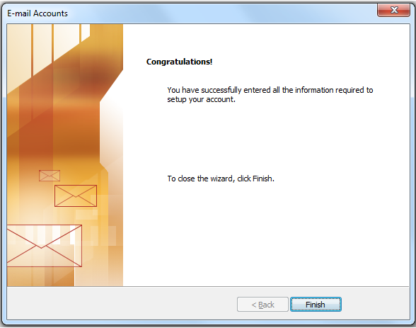 Outlook mail set up image 5